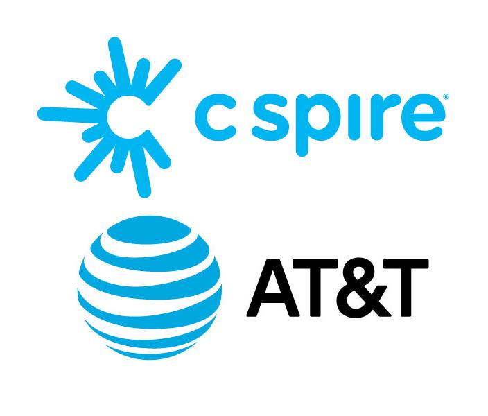 C Spire and ATT&T logos