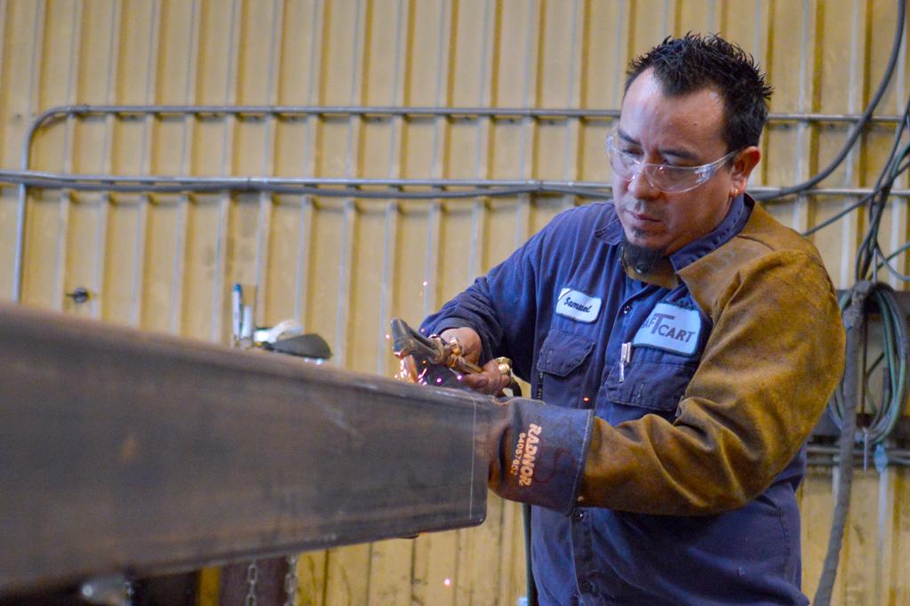 Saf-T-Cart welder